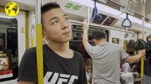 Les inconnus du métro : Li Rongjun, apprenti boxeur à Guangdong