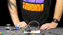Control a Stepper Motor using an Arduino, a Joystick and the