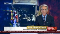 Police arrest five suspects in connection with Nice truck attack