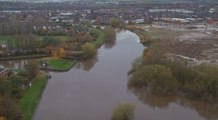 Castleford Rivers from the Air