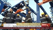 Greek PM Tsipras advocates further maritime cooperation with China