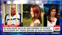Ex-KGB Agent says he was warned of attack on Russian Spy weeks before he was poisoned. #KGB #London #UK #BritishPM #Russia #VladimirPutin