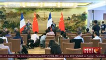 China-France ties: FMs agree to further promote ties