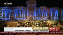 Concerts held in Palmyra's legendary amphitheater