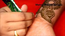 easy arabic simple mehndi henna designs for full hands|Matroj Mehndi designs