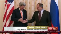 Syria talks between Lavrov and Kerry begin in Moscow