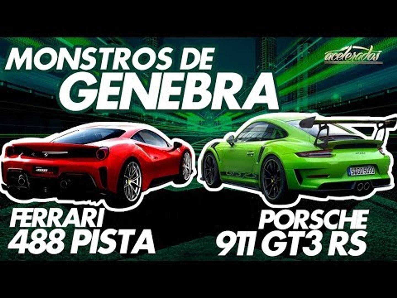FERRARI 488 PISTA OU PORSCHE 911 GT3 RS? TUDO SOBRE OS DOIS DEVORADORES DE ASFALTO NO ACELENEWS #99