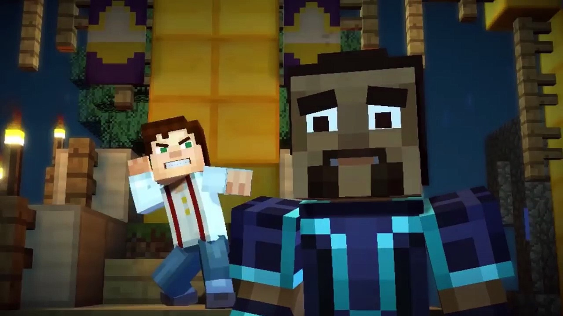 Minecraft Story Mode Jesse Female Vs Jesse Male Video Dailymotion
