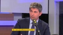 """""""Il n'y aura pas d'alliance avec le Front national"""", assure Gilles Platret, maire Les Républicains de Chalon-sur-Saône."""