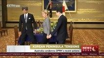 Australian FM condemns DPRK's rocket launch during Japan visit