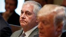 Trump Fires Rex Tillerson as Secretary of State