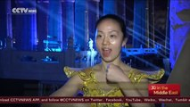 Thousand-hand Bodhisattva show in Egypt's Luxor Temple