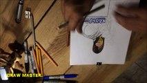 Scorpion Mortal Kombat 2018 / How to draw Scorpion Mortal Kombat