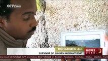 Europe migrants crisis: Sinking boat survivor recounts capsize horror