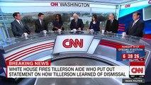 Aide_ Rex Tillerson was fired via Twitter
