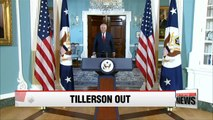 Rex Tillerson fired and replaced by CIA chief Mike Pompeo
