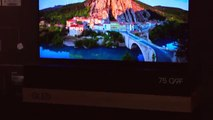 2018 QLED TV: Extra-large over 75-inch TV