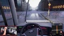 Fernbus Coach Simulator - Viagem Para Kiel - Policia Multando 2 Carros + Logitech G27