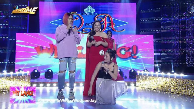 It's Showtime Miss Q & A: Vice gets emotional