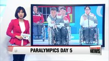 South Korea's mixed wheelchair curling team beats Switzerland... tied for 1st in round robin group
