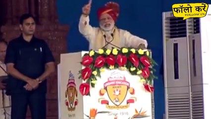 मोदी ने कहा यहां आप में से कितने लोगों को पता है हिंदुस्तान का चुनाव कितने दिन तक चलता है ?
