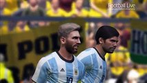 Brazil vs Argentina | FIFA World Cup Russia 2018 Qualifiers | PES 2017 Gameplay PC