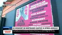 Reportage à Istres où le concert de Bertrand Cantat vient d'être annulé par la salle de concert