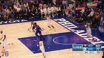 Les highlights de Joel Embiid face aux Pacers (13/03/18) - 29 points, 12 rebonds, 4 passes, 3 contres, 8 pertes de balle