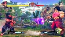 Ultra Street Fighter 4 - Evil Ryu vs Final Boss Oni [HARDEST]
