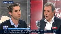 """SNCF: """"il y a une politique de classe au niveau de la SNCF depuis des années"""", estime François Ruffin"""