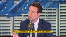 """Elections européennes : """"Si la question des élections européennes se réduit à la question de la tête de liste, alors on répétera les mêmes erreurs"""", juge Guillaume Peltier #8h30politique"""