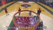 CUE robot ném bóng rổ bách phát bách trúng