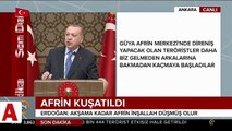 Cumhurbaşkanı Erdoğan: Fırat�ın doğusu�nuda teröristlerden temizleyeceğiz