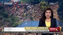 East China landslide: Chances slim of finding the missing