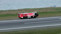 Acil İniş İsteyen Uçak Trabzon Havalimanı'na İniş Yaptı