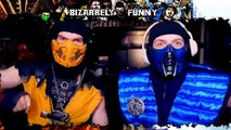 Scorpion & Sub-Zero Play Mortal Kombat: Shaolin Monks (Part 2) | MKX GAMEPLAY PARODY