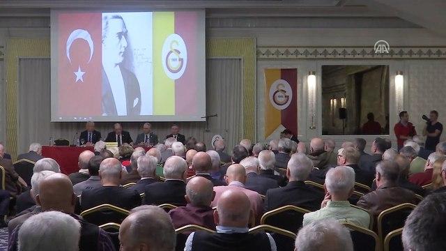 Galatasaray Kulübü Divan Kurulu toplantısı - Mustafa Cengiz - İSTANBUL