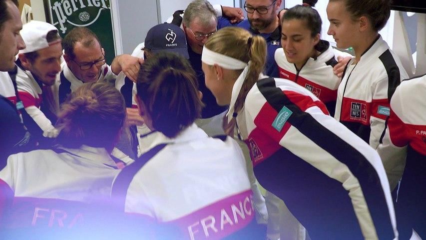 Fed-Cup : le teaser de la demi-finale FRA-USA