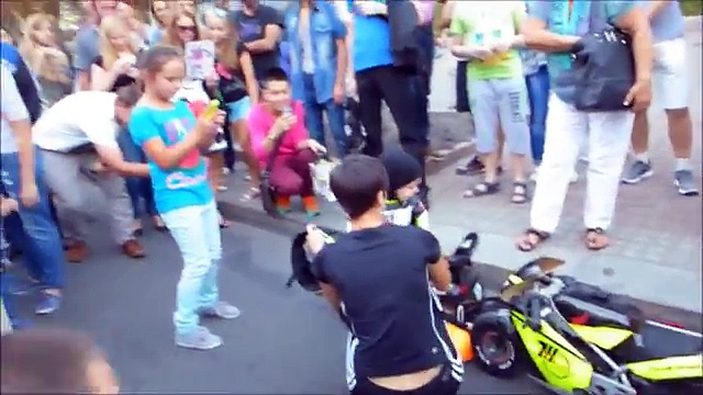 Kids Riding Motorcycles Compilation Video