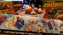 40 Surprise Eggs, Kinder Surprise Cars 2 Thomas Spongebob Disney Kinder niespodzianka Peppa Pig