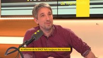 """Réforme par ordonnances de la SNCF:""""C'est arbitraire comme façon de faire. Ça ne respecte pas le débat parlementaire classique. On a un président de la République qui ne fait absolument pas confiance à ses députés"""",considère Guillaume Meurice #lesinformes"""