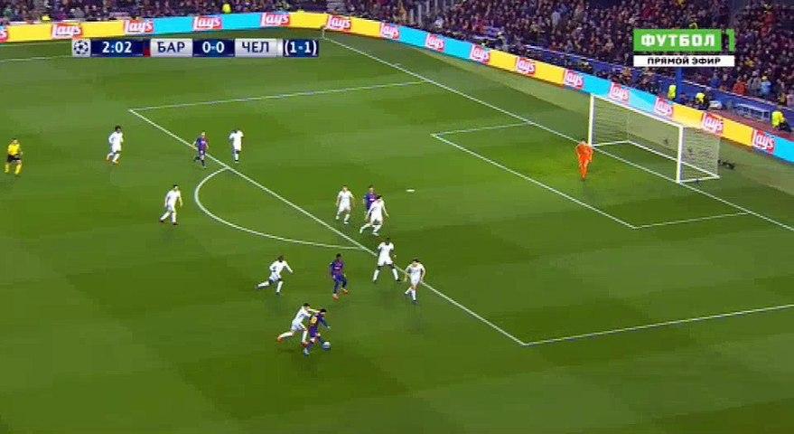 Lionel Messi  Goal HD - Barcelona1-0Chelsea 14.03.2018
