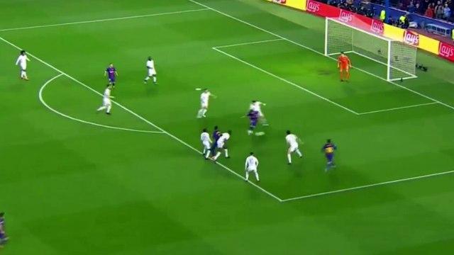 Lionel Messi goal vs Chelsea 1-1 - Barcelona vs Chelsea Champions League 2018