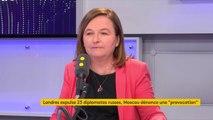 """Ancien espion russe empoisonné : """"Si la responsabilité de la Russie est pleinement avérée, c'est évidemment un geste extraordinairement préoccupant"""", déclare Nathalie Loiseau, ministre chargée des Affaires européennes #TEP"""