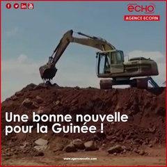 Bauxite Une bonne nouvelle pour la Guinée !