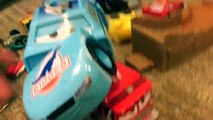 Cars 3 Toys BAD Doctor DAMAGE Surgery on Cal Weathers - Whats inside Disney Cars 3 Race Crash Toys