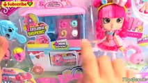 Shopkins Donatinas Donut Delights Shoppie Doll Playset with 4 Mini Donuts and Ex