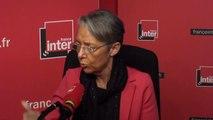 """Elisabeth Borne : """"Le droit de grève est légitime, mais le bon chemin, c'est de discuter"""""""