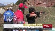 Shooting For Sport: S. Africans relieve stress in Cape Town's shooting range