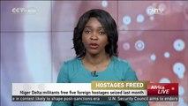Hostages Freed: Niger Delta militants free five foreign hostages